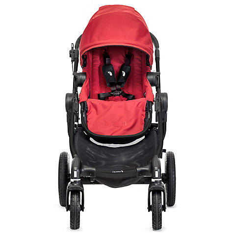 Buy Baby Jogger City Select Pushchair, Red Online at johnlewis.com