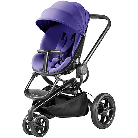 Buy Quinny Moodd Pushchair, Purple Pace Online at johnlewis.com