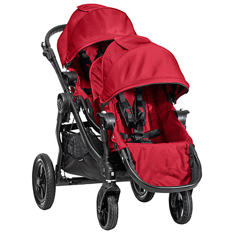 Buy Baby Jogger City Select Add-On Seat, Red Online at johnlewis.com