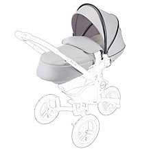Buy Silver Cross All Terrain Pushchair Hood Apron, Silver Online at johnlewis.com