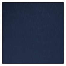 Buy John Lewis Henley Semi Plain Fabric, Midnight, Price Band C Online at johnlewis.com
