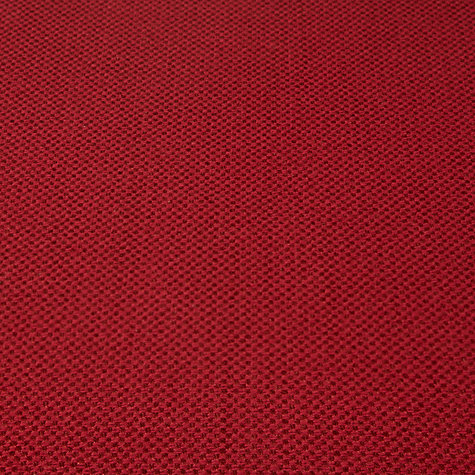 Buy John Lewis Brompton Semi Plain Fabric, Crimson Red, Price Band E Online at johnlewis.com