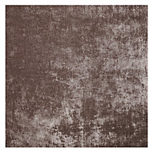 Buy John Lewis Como Cut Pile Velvet Fabric, Charcoal, Price Band F Online at johnlewis.com