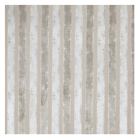 Buy John Lewis Marlow Cut Pile Velvet Fabric, Putty Stripe, Price Band E Online at johnlewis.com