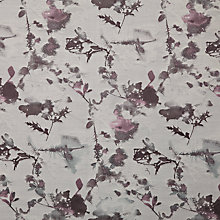 Buy John Lewis Eden Woven Jacquard Fabric, Rose, Price Band H Online at johnlewis.com