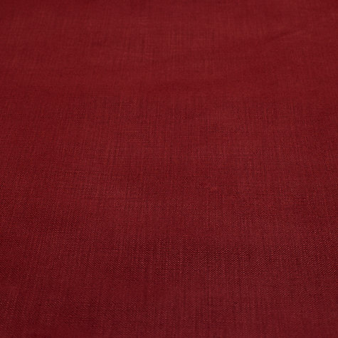 Buy John Lewis Pier Semi Plain Loose Cover Fabric, Coastal Red, Price Band B Online at johnlewis.com