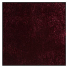 Buy John Lewis Como Cut Pile Velvet Fabric, Prune, Price Band F Online at johnlewis.com