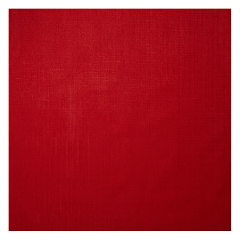 Buy John Lewis Bala Semi Plain Fabric, Crimson Red, Price Band A Online at johnlewis.com