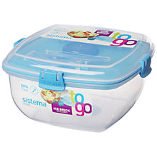 Buy Sistema Chill It To Go Container, Assorted Online at johnlewis.com
