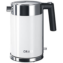 Buy Graef Kettle and 4-Slice Long Slot Toaster, White Online at johnlewis.com