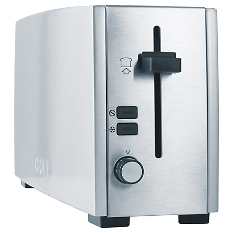 Buy Graef Long Slot 2-Slice Toaster Online at johnlewis.com