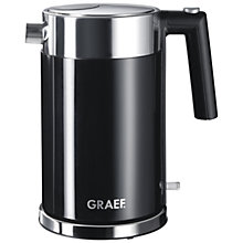 Buy Graef Kettle and 4-Slice Long Slot Toaster, Black Online at johnlewis.com