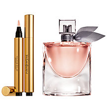 Buy Lancôme La Vie Est Belle Eau de Parfum, 30ml and Yves Saint Laurent Touche Éclat Complexion Highlighter, 1 Online at johnlewis.com
