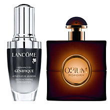 Buy Lancôme Advanced Génefique, 30ml and Yves Saint Laurent Opium Eau de Toilette, 30ml Online at johnlewis.com