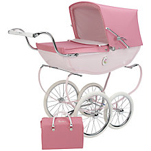 Buy Silver Cross Chatsworth Rose Doll's Pram Online at johnlewis.com