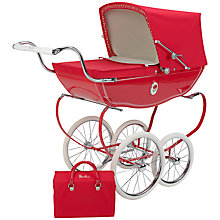 Buy Silver Cross Chatsworth Poppy Pram Online at johnlewis.com