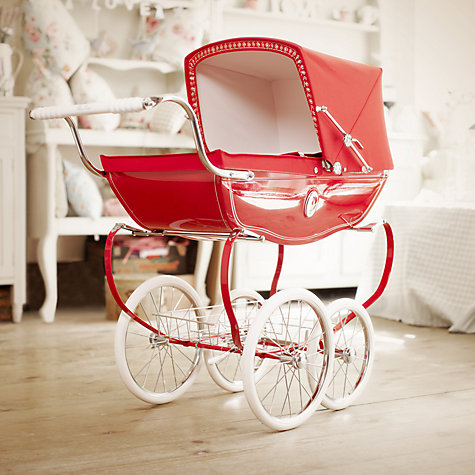 Buy Silver Cross Chatsworth Poppy Doll's Pram Online at johnlewis.com