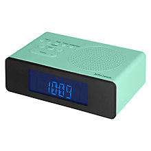 Buy John Lewis Spectrum V2 DAB/FM Clock Radio Online at johnlewis.com