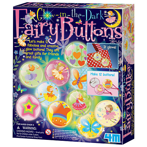 Buy Great Gizmos Make Your Own Glow-in-the-Dark Fairy Buttons Online at johnlewis.com