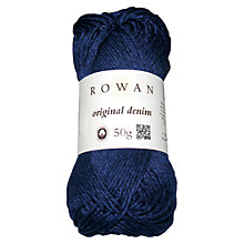 Buy Rowan Original Denim Wool, 50g Online at johnlewis.com