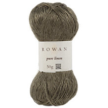 Buy Rowan Pure Linen Yarn, 50g Online at johnlewis.com