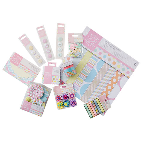 Buy Docrafts Capsule Papercraft Pack, Pastels Online at johnlewis.com