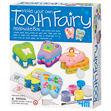 Buy Great Gizmos Make Your Own Tooth Fairy Keepsake Box Kit Online at johnlewis.com