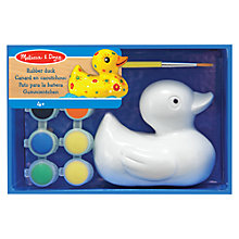 Buy Melissa & Doug Paint Your Own Rubber Duck Online at johnlewis.com