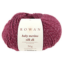 Buy Rowan Baby Merino Silk DK Yarn, 50g Online at johnlewis.com