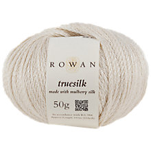 Buy Rowan Truesilk DK Yarn, 50g Online at johnlewis.com