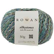 Buy Rowan Silkystones Yarn, 50g Online at johnlewis.com
