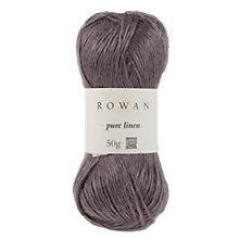 Buy Rowan Pure Linen Aran Yarn, 50g Online at johnlewis.com