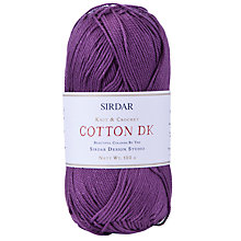 Buy Sirdar Cotton DK  Yarn, 100g Online at johnlewis.com