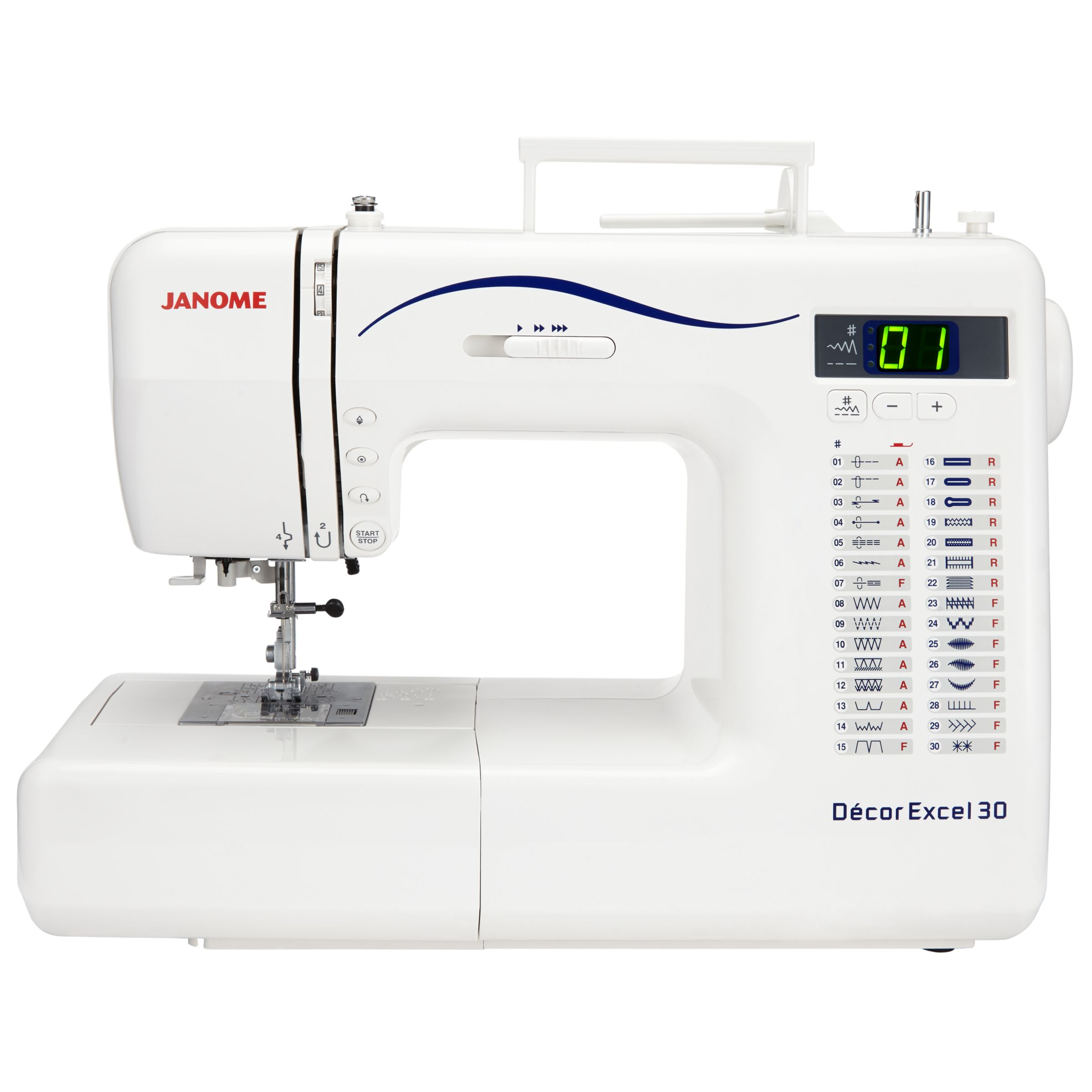 Janome dmx300 deluxe sewing machine home diy for Best home decor sewing machine