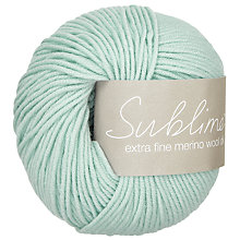 Buy Sirdar Sublime Extra Fine Merino DK Yarn, 50g Online at johnlewis.com