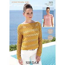 Buy Sirdar Cotton DK Leaflet, 7075 Online at johnlewis.com