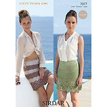 Buy Sirdar Cotton DK Leaflet, 7077 Online at johnlewis.com