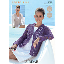 Buy Sirdar Cotton DK Leaflet, 7072 Online at johnlewis.com