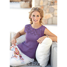 Buy Sirdar Cotton DK Leaflet, 7083 Online at johnlewis.com