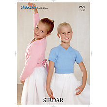 Buy Sirdar Wash'n'Wear Leaflet, 4979 Online at johnlewis.com