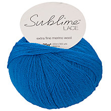 Buy Sirdar Sublime Lace Extra Fine Merino Yarn, 25g Online at johnlewis.com