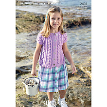 Buy Sirdar Supersoft Aran Leaflet, 2407 Online at johnlewis.com