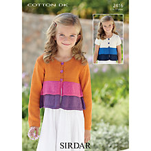 Buy Sirdar Cotton DK Leaflet, 2416 Online at johnlewis.com