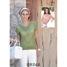 Buy Sirdar Cotton DK Leaflet, 7080 Online at johnlewis.com