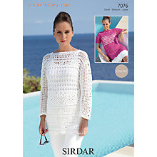 Buy Sirdar Cotton DK Leaflet, 7076 Online at johnlewis.com
