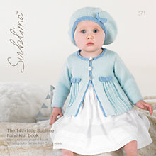 Buy Sirdar Sublime Baby Booklet, 671 Online at johnlewis.com