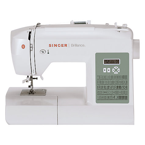 Buy Singer Brilliance 6199 Sewing Machine Online at johnlewis.com