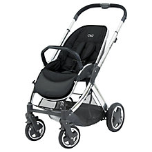 Buy BabyStyle Oyster 2 Mirror Pushchair Chassis and Seat, Black Online at johnlewis.com