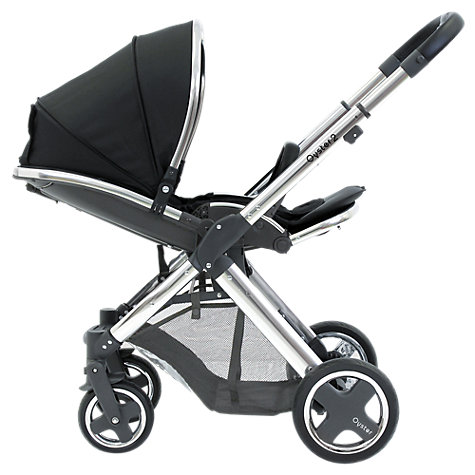 Buy BabyStyle Oyster 2 Mirror Chassis and Seat, Black Online at johnlewis.com