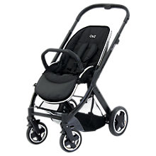 Buy BabyStyle Oyster 2 Chassis and Seat, Black Online at johnlewis.com